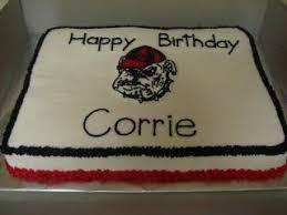 corrie u0027s georgia bulldog cake u2013 that sweet ang