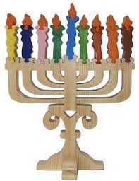 wooden menorah handmade wooden menorah puzzle explain the by rikmaproducts