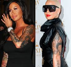 women in hollywood with tattoos toofab com