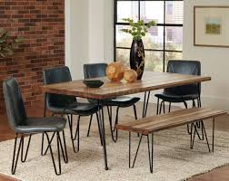 chambler dining table 122231 in honey by coaster w options