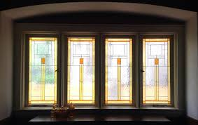 gallery glass class susan u0027s craftsman style dining room windows