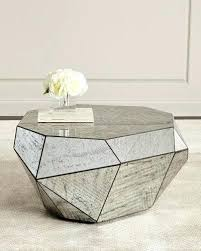 estelle mirrored coffee table estelle mirrored coffee table vennett smith com
