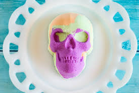 halloween decorations halloween favor skull bath bomb