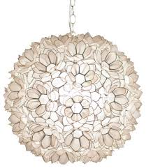 Capiz Light Pendant Adorable Shell Pendant Light Neiman Capiz Shell 1 Light