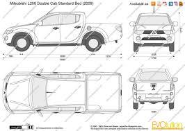 Ford Ranger Bed Dimensions The Mitsubishi L200 Trini Car Reviews