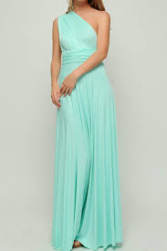mint green long infinity dress convertible dress bridesmaids dre