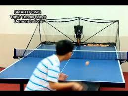 Ping Pong Table Rental Smartest Pingpong Table Tennis Robot Youtube