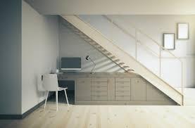 bureau sous escalier bureau sous escalier best rangement sousdans escalier facile dy