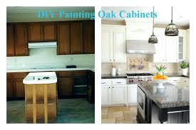 Paint Wood Kitchen Cabinets How To Paint Oak Kitchen Cabinets White Kitchen With White Oak