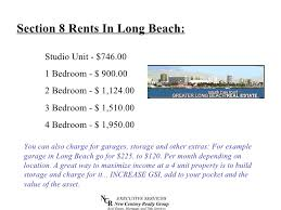 1 Bedroom Section 8 Apartments by Why Income Property In Long Beach California Short
