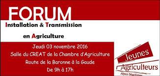 chambre agriculture alpes maritimes forum installation transmission en agriculture au creat à la gaude