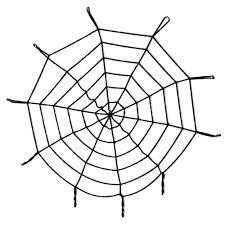1 5m spider web horror halloween decoration event party supplies