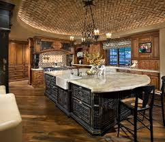 kitchen island rustic industrial kitchen island design with