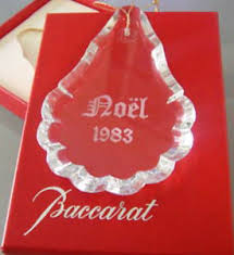 baccarat and religious items ornaments