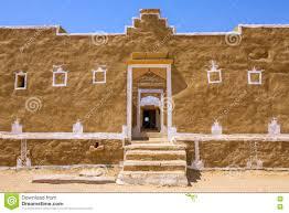 Traditional House Traditional House In Kuldhara Abandoned Village Near Jaisalmer