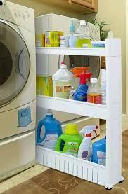 kitchen storage cupboard on wheels slide out storage tower slim between fridge washer dryer