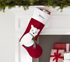 Pottery Barn Kids Stockings Luxe Velvet Stocking Collection Pottery Barn Kids Holiday