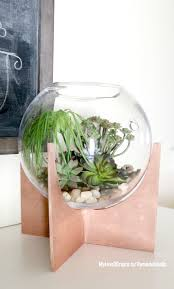 remodelaholic make your own plywood cross based globe terrariums