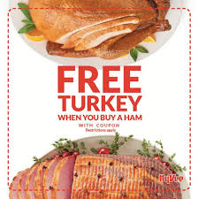hy vee thanksgiving how to get a free thanksgiving turkey save coupons