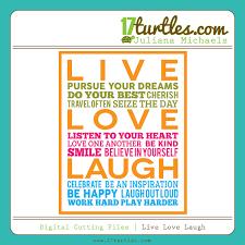 live love laugh live love laugh free digital cutting file