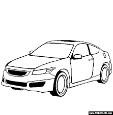 honda accord coupe mugen cars coloring pages kids coloring pages