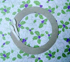 recycling ideas christmas wreath craft ideas