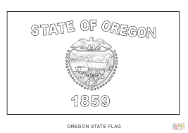 canada flag coloring page flag of oregon coloring page free printable coloring pages