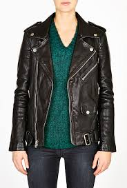 black motorcycle jacket dnm black leather masculine fit motorcycle jacket by blk dnm