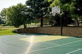 Backyard Sport Courts by Backyard Sport Courts Swimming Pools Putting Greens And Games
