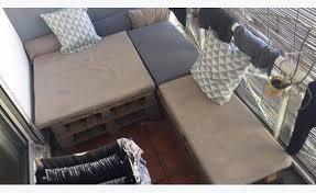 canapé d angle en palette canapé d angle en palette annonce meubles et décoration la réunion