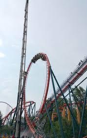 Sandusky Ohio Six Flags Rougarou Is A Floorless Roller Coaster Located At Cedar Point