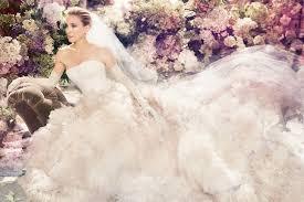 brautkleider vera wang and the city carrie bradshaw wedding dress from vogue photo shoot