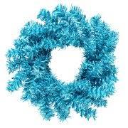 blue wreaths garland walmart