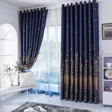 Blue And Gold Curtains Myru Mediterranean Navy Blue Curtains Rural Silver And Gold Castle