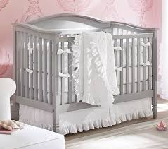 Pottery Barn White Comforter Ruffle Baby Bedding Pottery Barn Kids