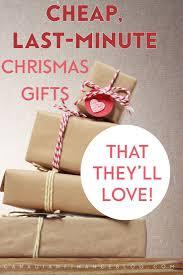 cheap last minute christmas gift ideas