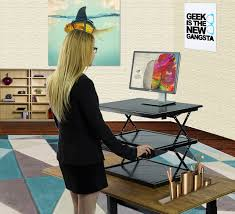 standing desk add on decorative desk decoration