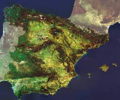 Satellite Map Of Florida by Map Of Spain