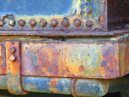 rusty train part of a rusty train locomotive in naboomspruit south africa