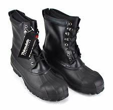 s insulated boots size 9 winter boots for with steel toe solid ebay