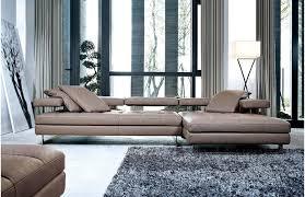 Modern Sofas Sydney Sofas Arsizio Leather Chaise Lounge Sofa Sofa
