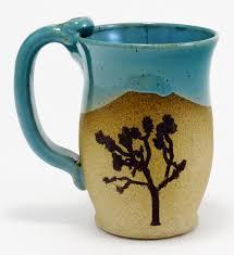 Tree Mug Joshua Tree Mug Mazamar Pottery