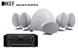 marantz home theater kef e305 5 1 speakers and marantz sr5010 receiver surround system