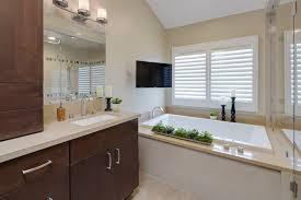 orange county half bath decor bathroom transitional with wood