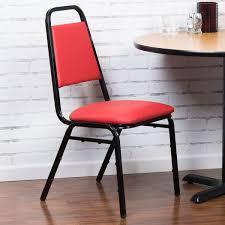 lancaster table and seating table seating red stackable banquet chair with 1 padded seat