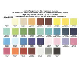 light brown paint color chart enameling help and information thompson enamel