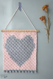 Heart Home Decor A Simple Tutorial For Creating A Beautiful Crocheted Wall Hanging