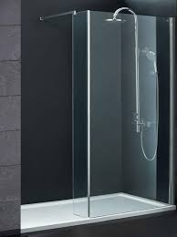 800 Shower Door Indi 1600 X 800 8mm Walk In Shower Enclosure Inc Tray And Waste