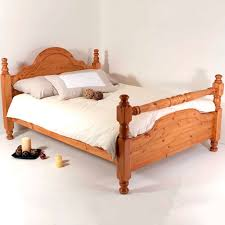 Solid Pine Bed Frame Realwoods Solid Pine Bed The Classic Rail Single King