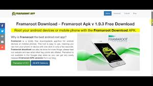 framaroot for android how to framaroot app